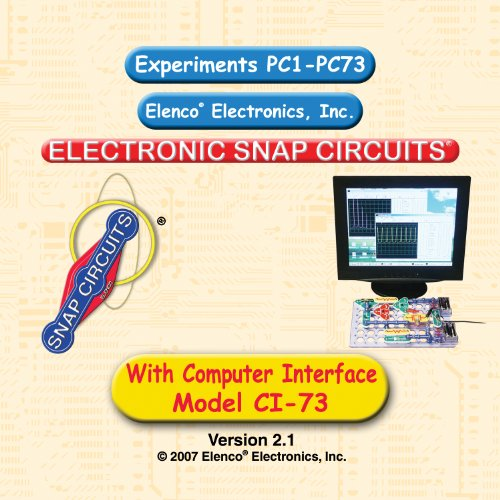 Snap Circuits CI73 Computer Interface Kit
