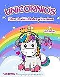 Libro de actividades de unicornios:: para niños de 4 a 8 años - Volumen 3