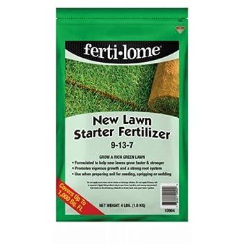 Voluntary Purchasing Group Fertilome 10904New Lawn Starter Fertilizer 4-Pound