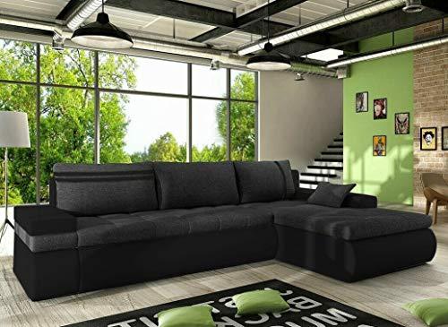 ROMANO FURNITURE CORNER SOFA BED OSLO LUX 06 RIGHT