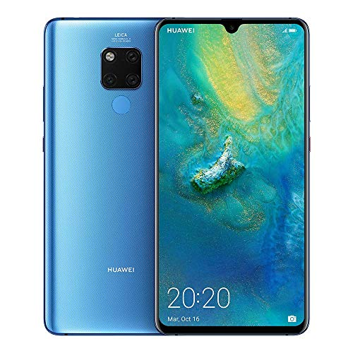 Huawei Mate 20 X 128 GB 7.2-Inch 2K FullView Android 9.0 SIM-Free Smartphone with New Leica Triple AI Camera and Ultra Wide Angle Lens, Single SIM, UK Version - Blue (Refurbished)