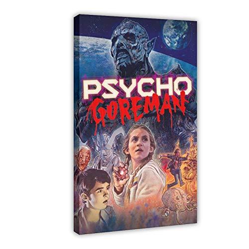 Film-Psycho Goreman Leinwand-Poster, Wandkunst, Dekor, Bild, Gemälde für Wohnzimmer, Schlafzimmer, Dekoration, Rahmen: 60 x 90 cm