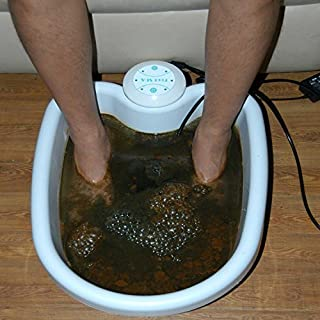 Timmall ION Ionic Detox Foot Bath Cleanse SPA with TUB by Logisaf