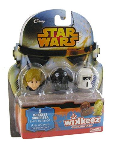 Star Wars WK00002 – Blister 5 Wikkeez – 20 Sammlermodelle (Comansi WK00002)