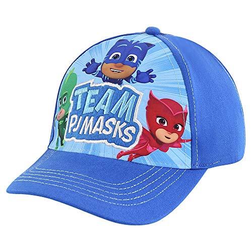 PJ Masks Husky Kids Baseball hat for Toddler Ages 2-7, Blue, Little Boy - Age 4-7