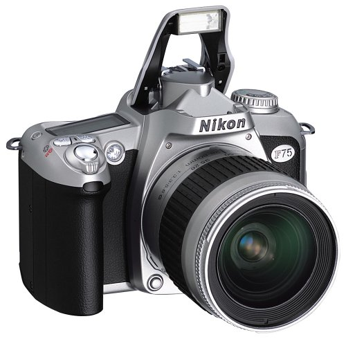 Nikon F75 Spiegelreflexkamera Silber