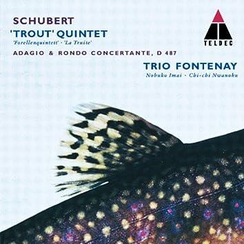 Schubert : Trout Quintet, Adagio & Rondo Concertante