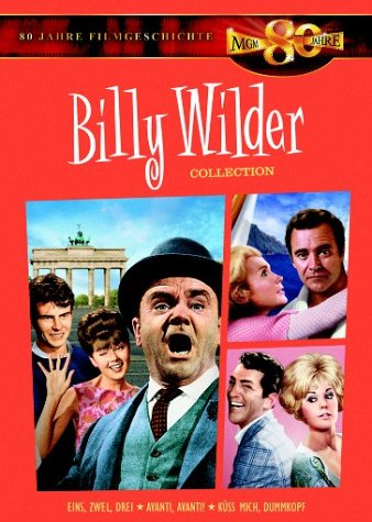 Billy Wilder Collection (Eins, Zwei, Drei / Avanti, Avanti / Küss mich, Dummkopf) [3 DVDs]