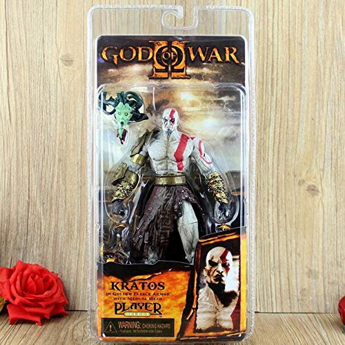Collectible Figure God of War Kratos SammelfigurenModel Figur Statue Spielzeug 20cm B