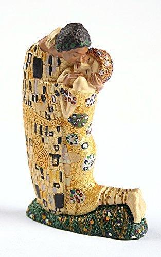 Parastone De el Beso de Klimt en Miniatura Estatua decoración para Tarta para Boda pa03kl