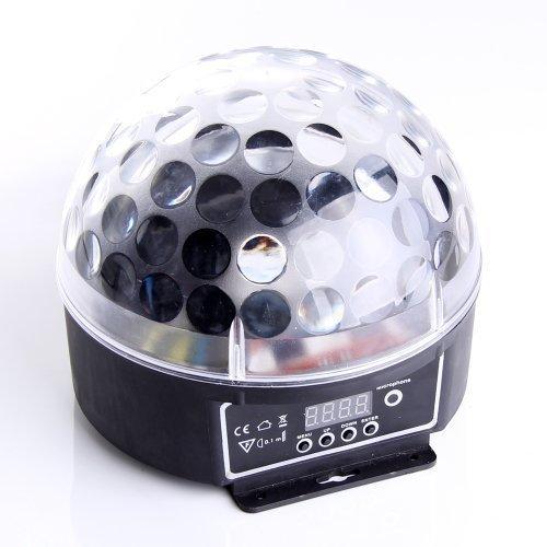 ANNT LED Discokugel DMX Party Projektor DJ Lichteffekt Bühnenbeleuchtung Strahler Club