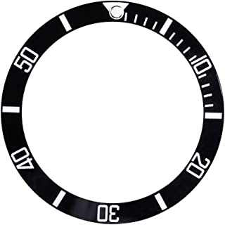 Watch Bezel Insert, Ceramic Wristwatch Bezel Insert Loop Replacement Part Watch Accessories