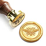 UNIQOOO Arts & Crafts Little Bee Wax Seal Stamp-Great for Embellishment of Envelopes, Invitations, Wine Packages, etc-Exceptional Gift Idea for Artistic Types and Everyone Else in Between beeswaxes May, 2021