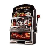 Monsterzeug Glücksspiel Automat Einarmiger Bandit, Slot Machine, Geldspielautomat mit Lichtern, XXL...