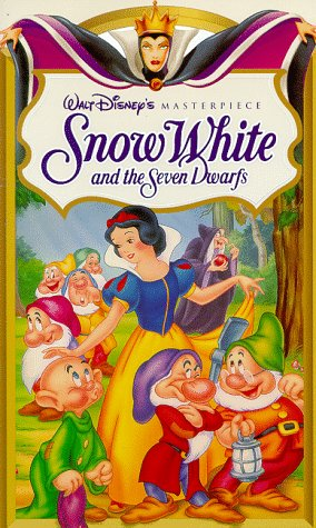 Snow White and the Seven Dwarfs (Walt Disney's Masterpiece) [VHS] New Jersey
