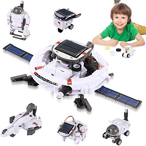 Coodoo Robots for Kids 8-12, Stem Projects 7 in 1 DIY Solar Power Space Science Kits, Toys for Boys...