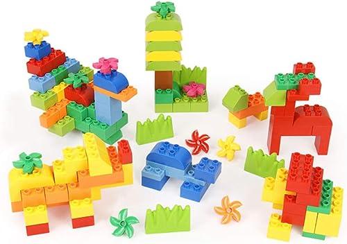 LIUFS-SPIELZEUG Kinder Größe Partikel Geb e Wand Zusammengebaut Spielzeug 3-6 Jahre Alten Jungen Intellektuelle Entwicklung (Größe   L - 128)