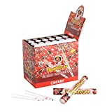 Honeypuff Cherry Flavored Pre Rolled Cones (48 PCs) with Rolling Paper Tube 1 1/4 Size with Tips (78mm)