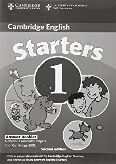 Cambridge Young Learners English Tests Starters 1 Students Book: Examination Papers from the University of Cambridge ESOL ...