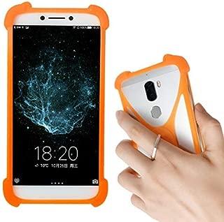 Lankashi Orange Stand Ring Holder Soft Silicone Protective Case Cover For NUU G3 X5 A4L M3 SWEES 3G Nextbit Robin CTC Soshphone PendoPhone Meiigoo S8 Fairphone 2 Padgene S9 Atongm G501 Cagabi One IUNI