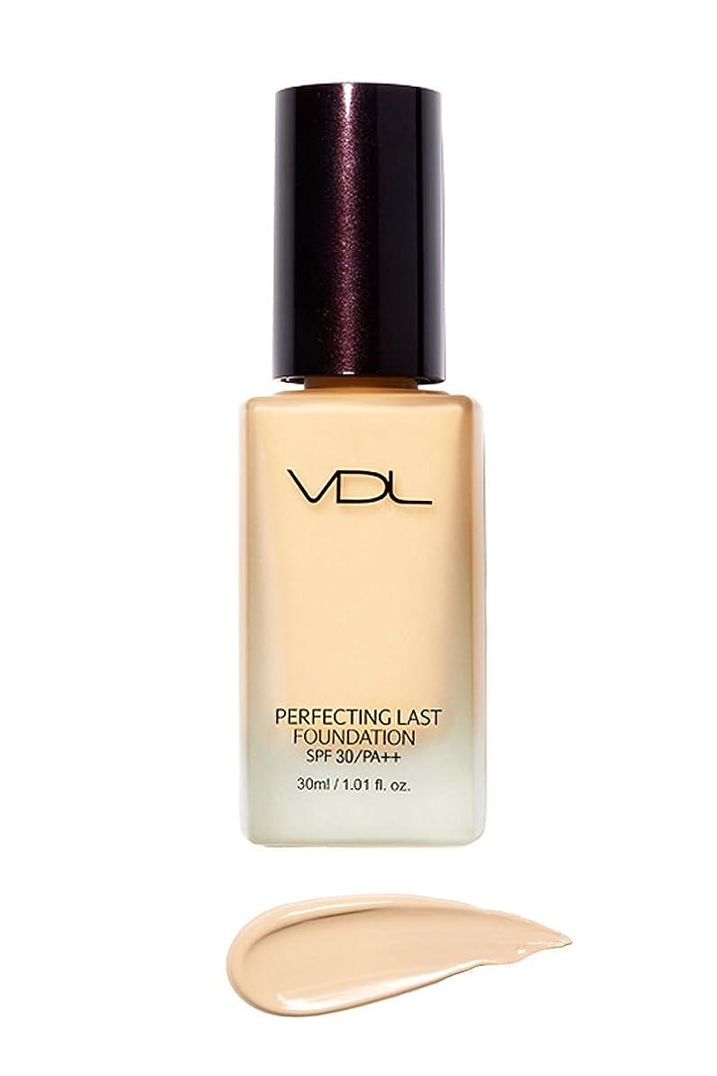 無限大毎年刺繍VDL ブイディーエル パーフェクティング?ラスト?ファンデーション SPF30 PA++ 30ml 3類 (Perfecting Last Foundation) 海外直送品 (V02-Vanilla Base-)
