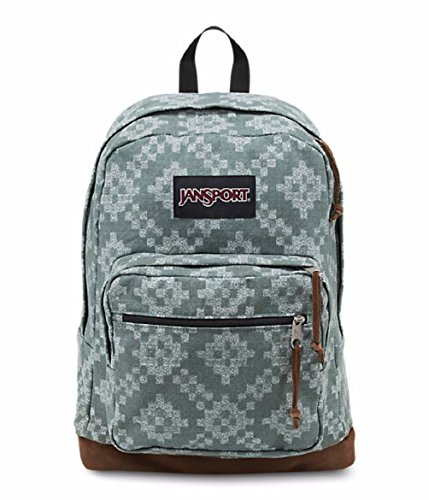 JanSport Unisex Right Pack Expressions Frost Teal/Diamond Fade Backpack