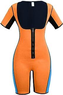 74ec8c00b2c AOBRITON Body Shaper Sauna Sweat Waist Trainer Fitness Shapers Slimming  Shapewear Bodysuit