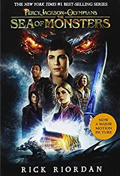 Paperback Percy Jackson and the Olympians, Book Two the Sea of Monsters (Movie Tie-In Edition) Book