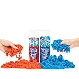 Educational Insights Playfoam Pluffle Red/Blue 2 Pack: Non-Toxic, Never Dries Out, Sensory Play, Ages 3 and Up
