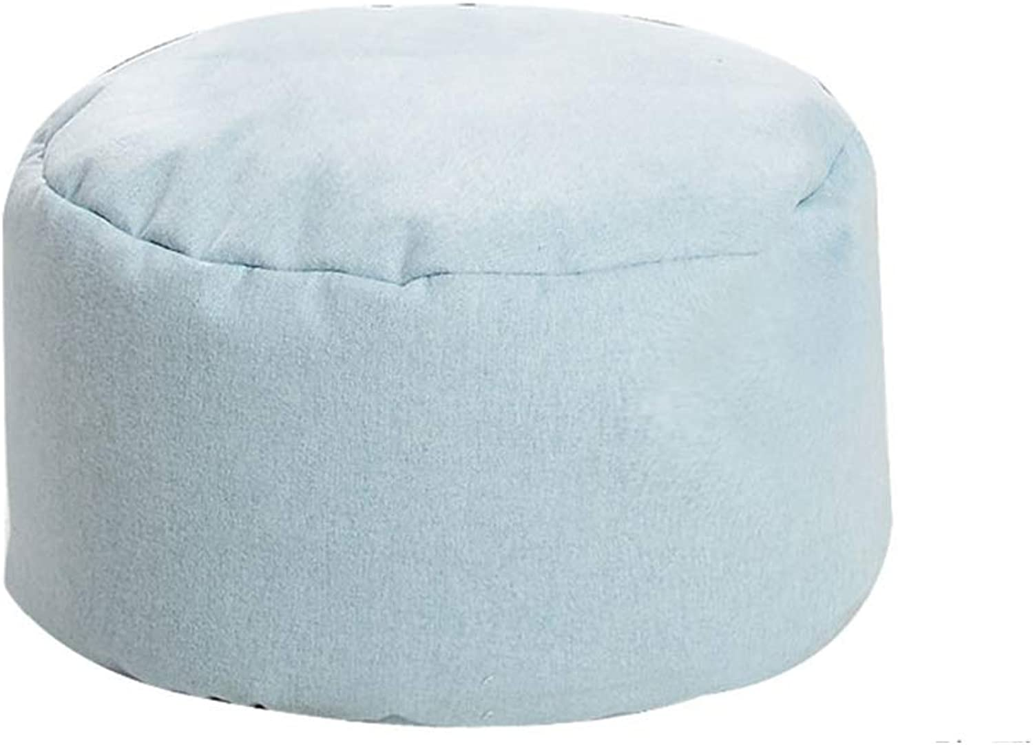 Bean Bag Chair Lazy Couch Footstool Living Room Bedroom Quality Filler Removable and Washable ( color   C )