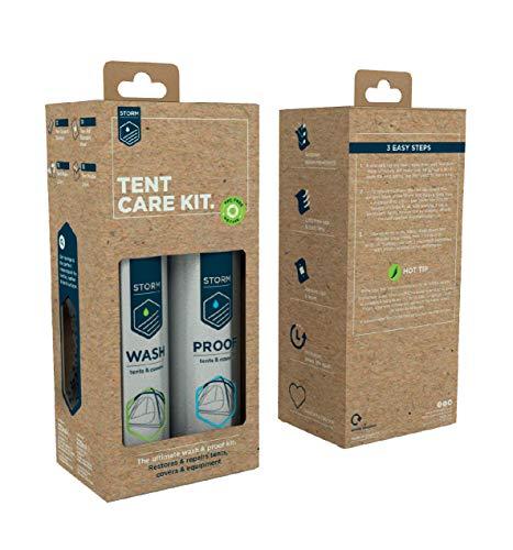 Storm Ultimate Kit de cuidado de tienda de campaña para limpieza e impermeabilización