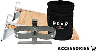 The RovR Essentials Pack (Includes Dual Cup Holder, Prepping Board, Stash Bag)