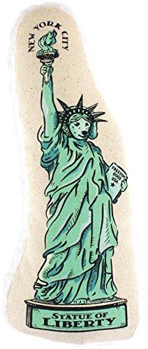 Harry Barker Freiheitsstatue auf Leinwand Kauspielzeug, Large, grün