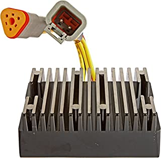 DB Electrical Asd6001 Rectifier Voltage Regulator For Sea Doo SeaDoo 3D DI GTI 2005-2007/ GTX 2002-2007/RXP 04-07/ RXT 05-07/ Challenger Speedster Sportboat 05-07/Islandia 06-07/Sportster 03-06