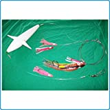 Piranha Fishing Line Trineo Teaser Aeroplane - Terminal de atunnos alunga Agucia Imperial