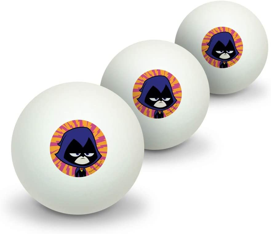 GRAPHICS MORE Teen Titans SALENEW very popular Go Raven Tennis Max 51% OFF Ping Table Novelty