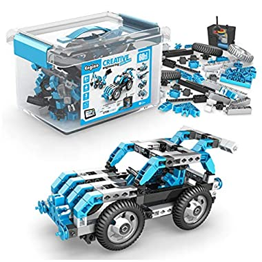 Engino Toys Creative Engineering STEM Maker Master Ultimate 60-Model Set, Think and Build in 3D Space, Activities and…
