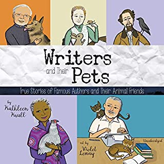 Writers and Their Pets     True Stories of Famous Authors and Their Animal Friends              By:                                                                                                                                 Kathleen Krull                               Narrated by:                                                                                                                                 Lauren Ezzo                      Length: 2 hrs and 20 mins     Not rated yet     Overall 0.0