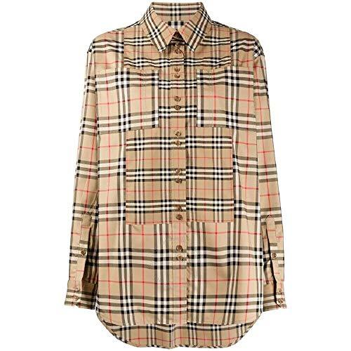 Burberry Contrast Vintage Check Shirt, Brand Size 8