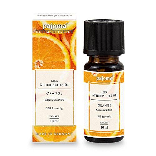 pajoma Duftöl Orange, 100% naturrein, ätherisch, 10 ml