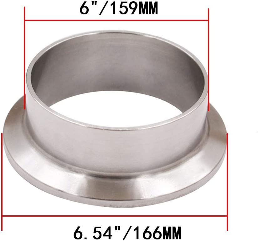 1 Pcs Silicone Gasket,Sanitary Ferrule TC,Sanitary SS303 Set Stainless Steel Tri-clamp 1inch 1Pcs End Cap + 1 Pcs Sanitary Pipe Weld Ferrule FLOW SOLUTIONS for 1 Tri-Clover Clamp