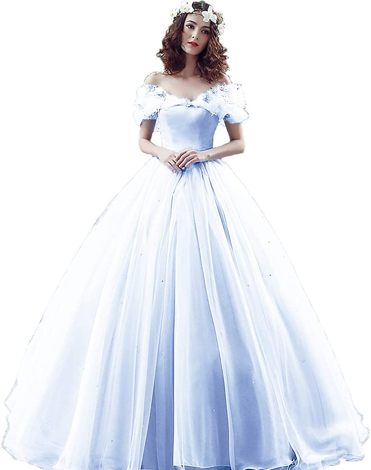 Awishwill Women's Wedding Dresses Ball Gown Sweetheart Bridal Gown Evening Dress