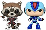 Pack: Pop! Marvel Vs. Capcom Infinite 2 - Rocket Vs. Mega Man X...