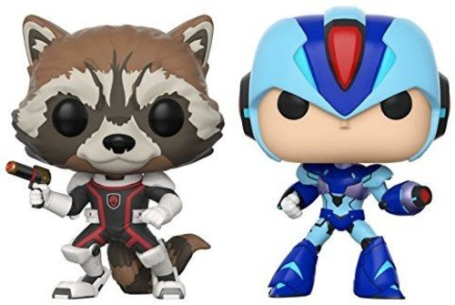 Pack: Pop! Marvel Vs. Capcom Infinite 2 - Rocket Vs. Mega Man X