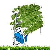 水耕栽培キット 8パイプ水耕栽培システム、PVC垂直水耕パイプは新鮮な野菜を栽培します