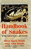 Handbook of Snakes of the United States and Canada: Comstock Classic Handbooks (2 Vol. Set)