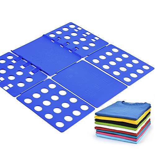 BoxLegend Plastic Adjustable Clothes Folding Board, 23 x 27.5-Inch, Blue