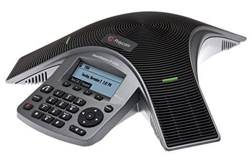 Polycom IP IP5000 Desk Phone SoundStation - Black (Refurbished)
