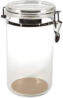 Prestige Import Group AJ25 25 Count Acrylic Humidor Jar with Humidifier and Spanish Cedar..