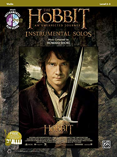 The Hobbit: An Unexpected Journey - Instrumental Solos (Violin) (Buch & CD) (Pop Instrumental Solo)